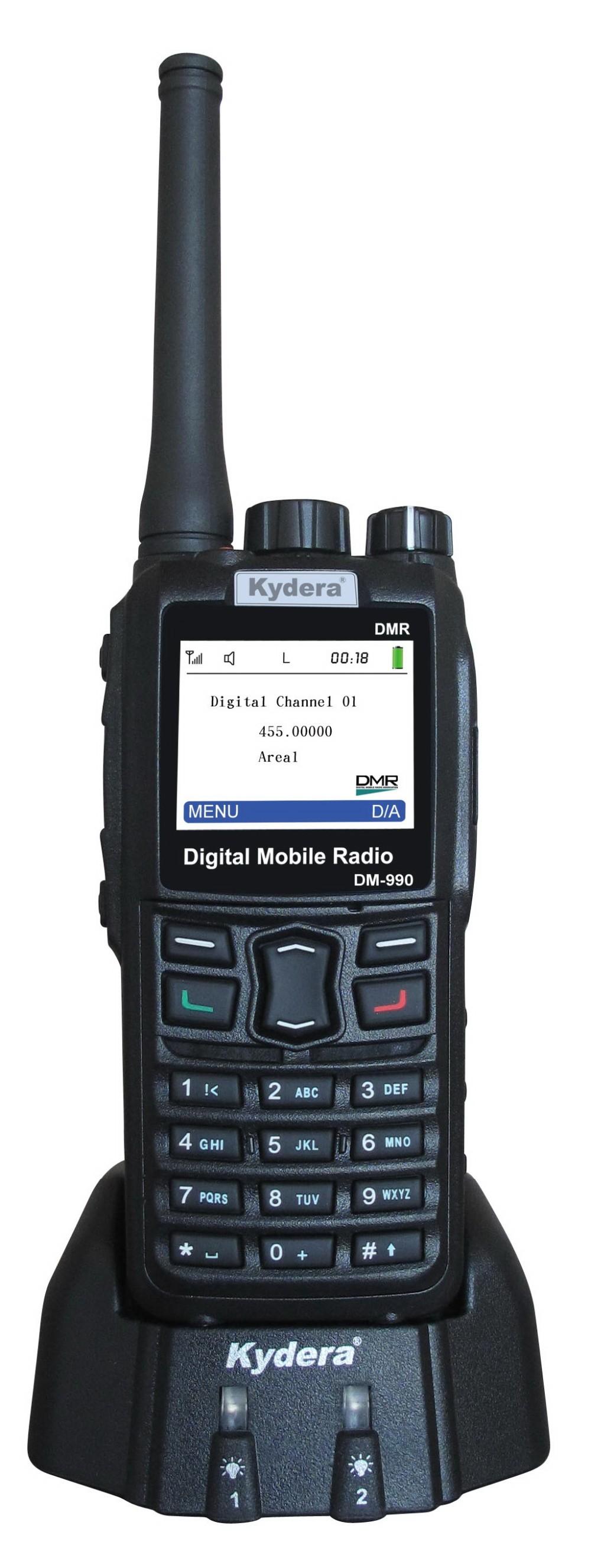 Kydera DM-990 UHF DMR Digital military Two Way Radio - ANKUX COM