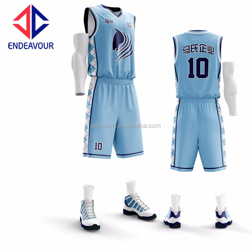 1dd24030ed4 2017 New Design Wholesale Sky Blue Basketball Jersey - Buy Sky Blue  Basketball Jersey