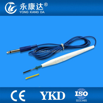 Disposable ESU pencil for surgical operation,electrosurgical pen for medical equipment