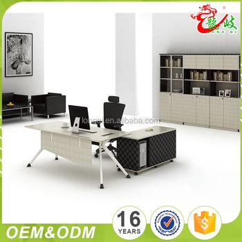 2017 Latest Design Eco Friendly Modern Exclusive Expensive Office Furniture Desks