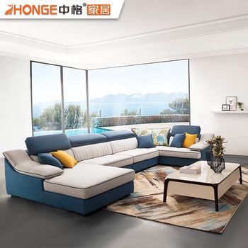 2018 Sofa New Designs U Shaped Modern Latest Design Sofa Set Living