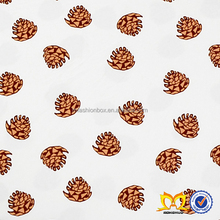 New Cotton Nut Print Fabric Design Bulk Price China Supplier Cheap Cotton Fabric For Baby Clothes