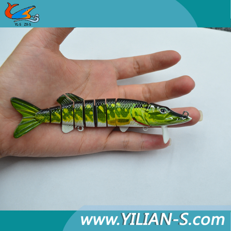 2015 latest design fishing lures multi jointed fishing lures, Hard Baits