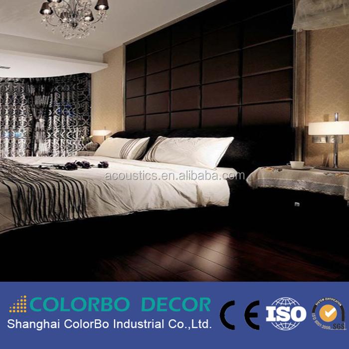 studio leather soundproof wall panelslow fiberglass acoustic panel