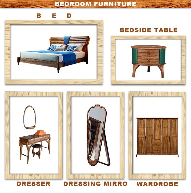 고품질 나무 4 서랍 서랍장, 럭셔리 거실 캐비닛 테이블