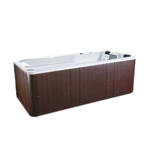 Acrylic Luxury large outdoor spa swim massage bathtub