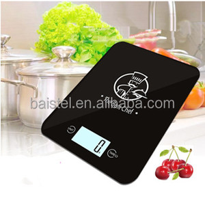 Kitchen Scale 5KG Tempered Glass Touch Screen Electronic Digital Food Scale