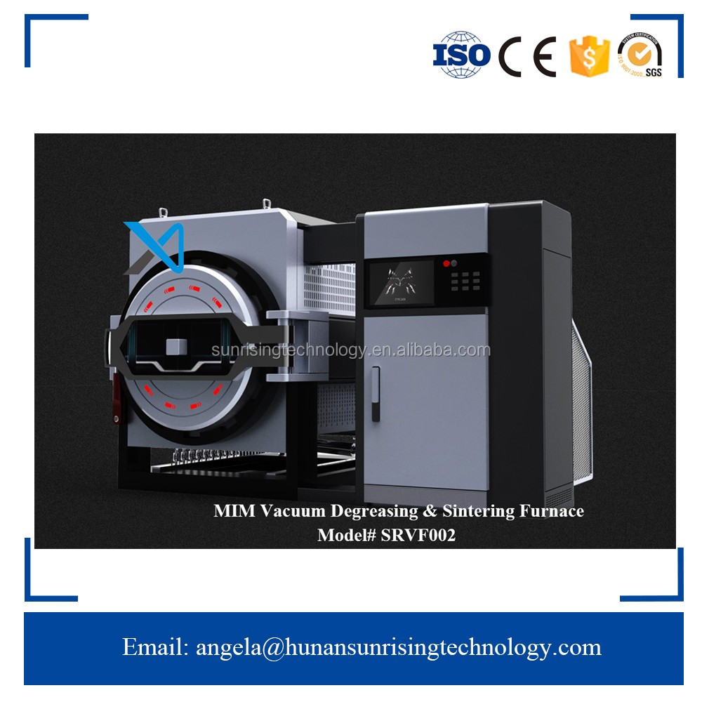 China Manufacturer MIM vacuum resistance microwave microwave heating heating Tungsten sintered hydrogen furnace
