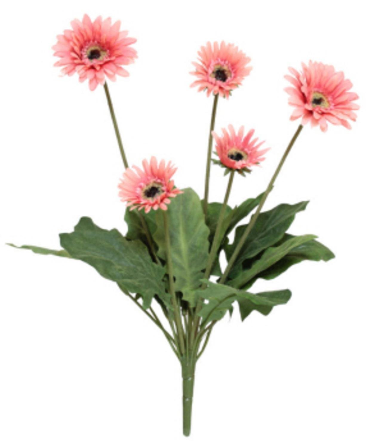 Cheap gerbera pink find gerbera pink deals on line at alibaba get quotations pack of 6 decorative artificial light pink gerbera daisy floral bush 22 izmirmasajfo