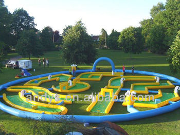 2013hot Crazy Golf Inflatable Sports Game For Adults And ...