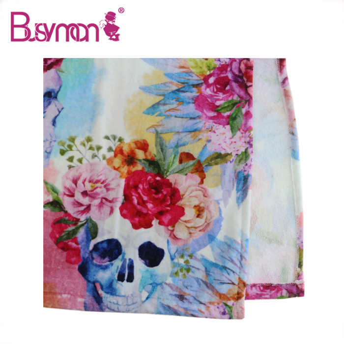 High quality Large Personalised Organic Cotton beach towels