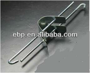 suspensory ceiling hanger and hook in ceiling suspension system