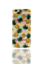 Pineapples Printed Protective Soft TPU Skin Mobile Phone Case