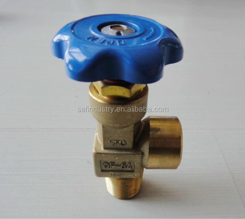 Cga870-4 Natural Gas Cylinder Valve Cga Cylinder Valve High Flow ...