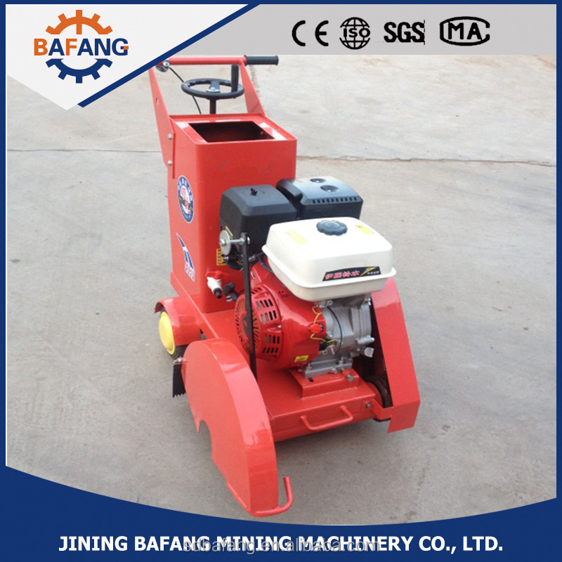 Gasoline concrete road cutter HQR500 / floor cutting machine