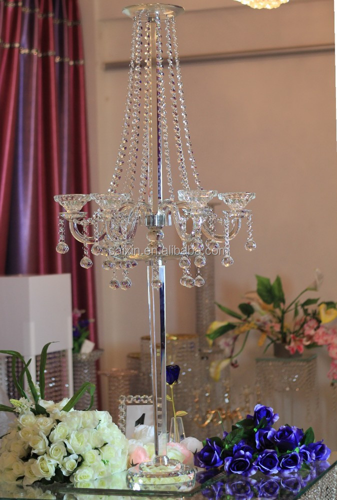 Nuevo! Soportes de suelo y wedding wedding candelabros piso flores ...