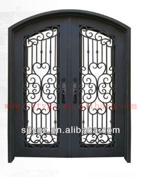 New Style Doors And Windows Of Wrought Iron