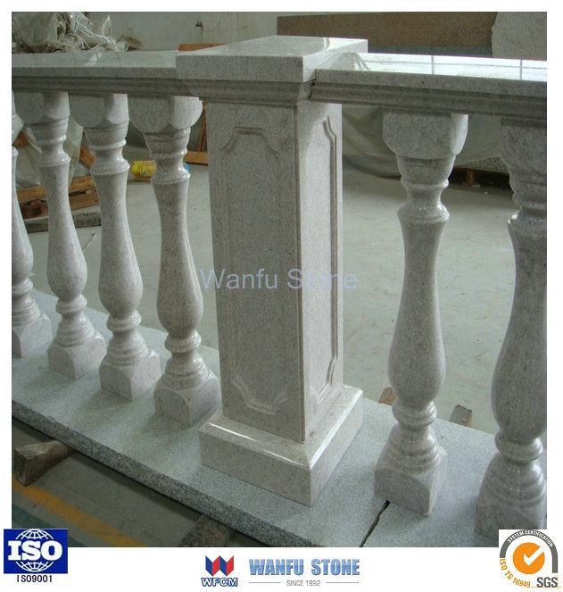 Wholesale Balcony Column Custom Granite Fence Columns