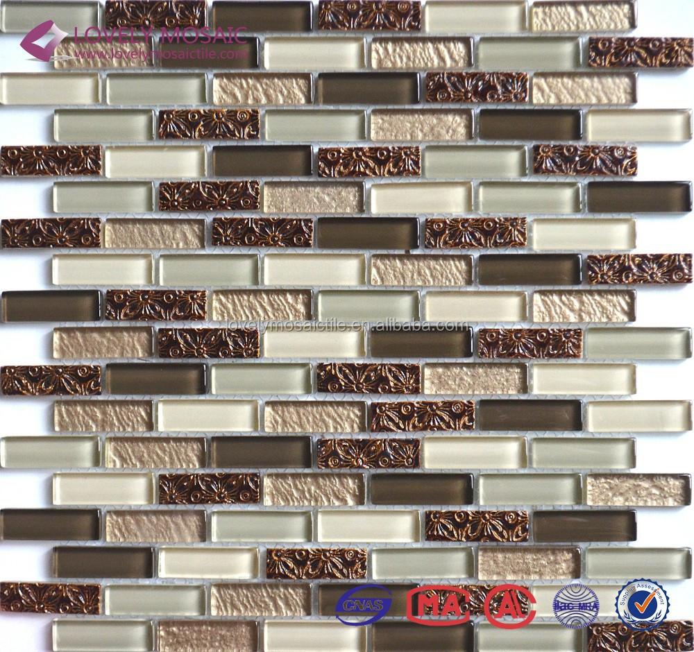 Italia Stile Mosaico Piastrelle per Pavimenti di Piastrelle TV ...