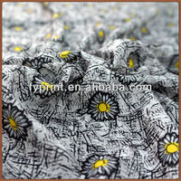 Factory Direct Floral Style Custom Printed Poly Velvet Satin Dressmaking Fabric Digital Printing For Garments