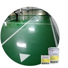 alkali resistance factory price of resin paint polyurethane floor coating