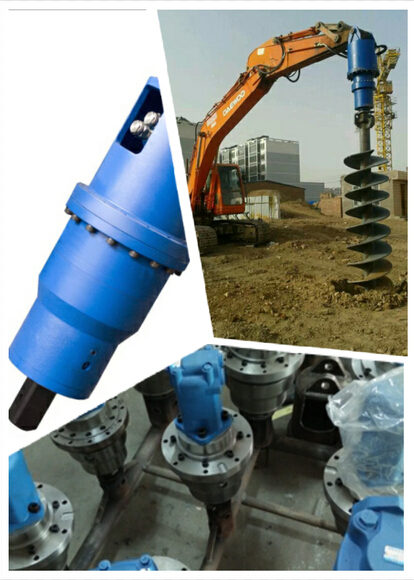 hydraulic earth drills equipments earth auger for excavator used