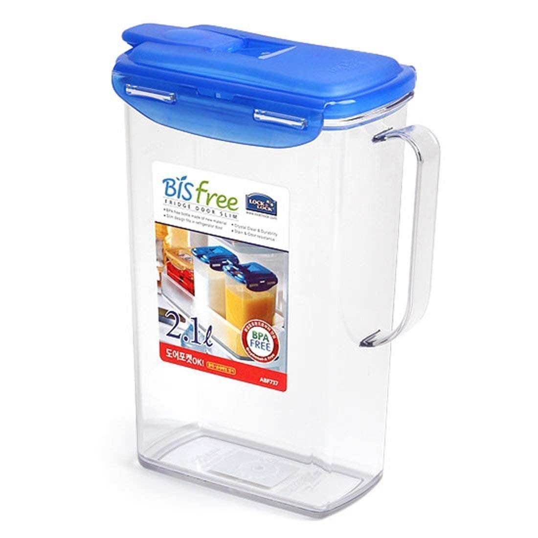 Get Quotations · Lock U0026 Lock TRITAN, BIS FREE WATER, JUICE Storage Container  Pitcher Jug 71oz /