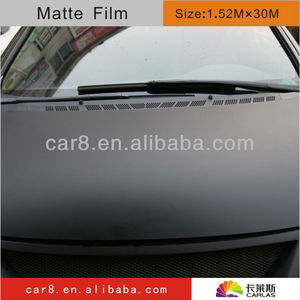 Smooth PVC Look vinyl 30m graphic film, paint protection and color change film/ HOT SELLING / Size: 1.52 m x 30 m