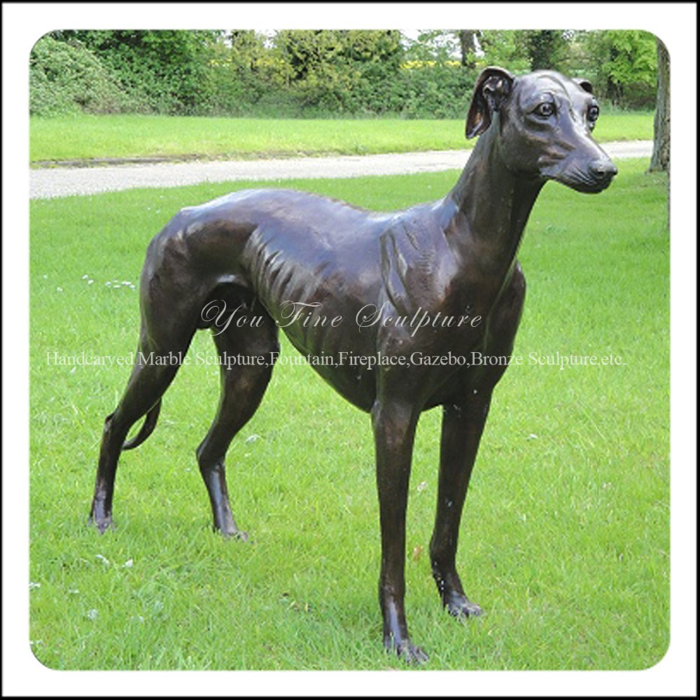 Garden Standing Bronze Greyhound Statue Product On Alibaba