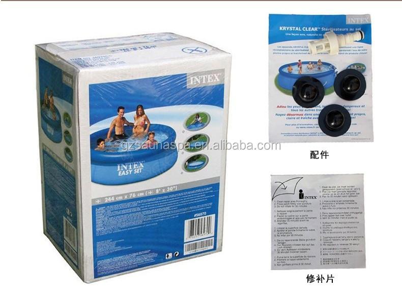 Swimming Pool Packaging : Above ground intex swimming pool buy
