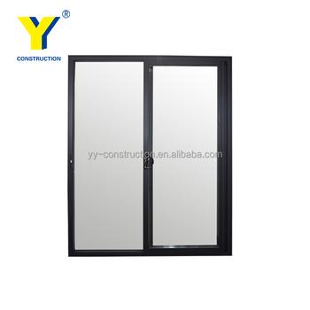 Glass Sliding Commercial Entrance Door Glass Partition Door 24