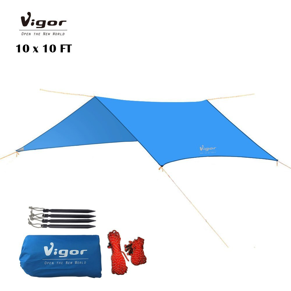Vigor Waterproof Tent Tarp 10x10ft Multi-function C&ing Shelter RipStop Rainfly Snow Cover  sc 1 st  Alibaba.com & Cheap Best Tarp Tent find Best Tarp Tent deals on line at Alibaba.com