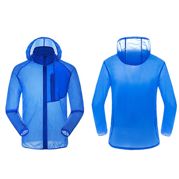 Wholesale Breathable Summer Skin Jacket Quick Dry Hoodie Anti Uv Sun Protection Clothing Jacket