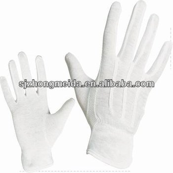 Walmart White Marching Band Gloves Cotton Gloves Church
