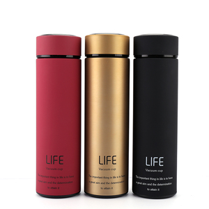 500ML Thermos tea Coffee Stainless thermosCoffee mug Stainless steel thermal bottle Drink water bottle Vacuum flask