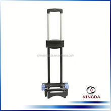 2014 metal luggage trolley parts plastic handle