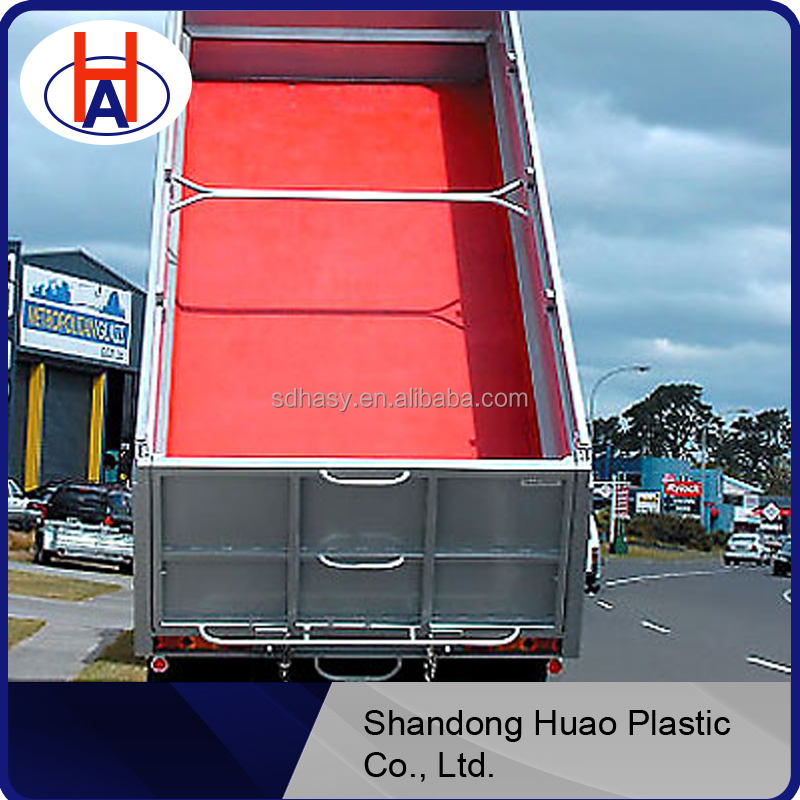Protable UHMWPE plastic protection dump truck bed liner