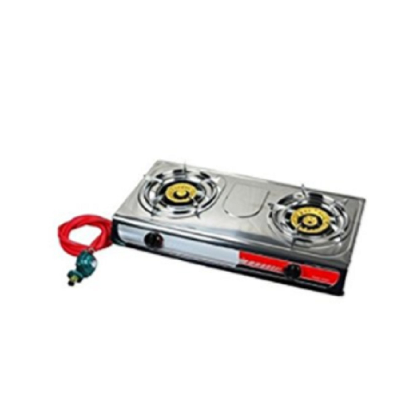 USA Premium Store Portable Propane Gas Stove DOUBLE 2 Burner CAMPING TAIL GATE Tailgating Stoves