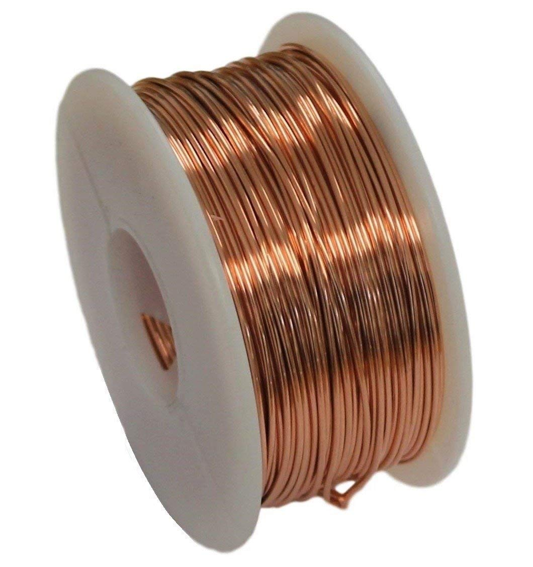 Cheap 18 Ga Solid Copper Wire Find Deals On Electrical Bare And Get Quotations Round 5 Oz Spool Dead Soft 12 To 30