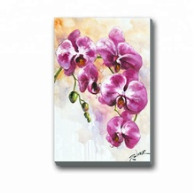 Print 벽 Art Beautiful 꽃 Picture Designs Fabric Painting