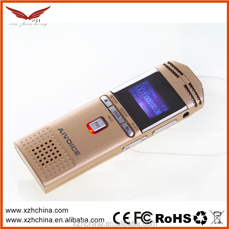 Wholesale and New Arrival Voice Recorder with Timer reservation recording+Password lock function+MP3 functions