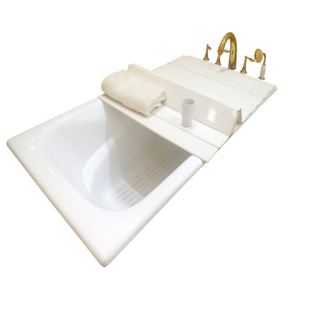 "A.B Crew Creative Folding Bathtub Tray Bathtub Caddy - Good for Keeping Water Hot (31.5""x45.3"")"