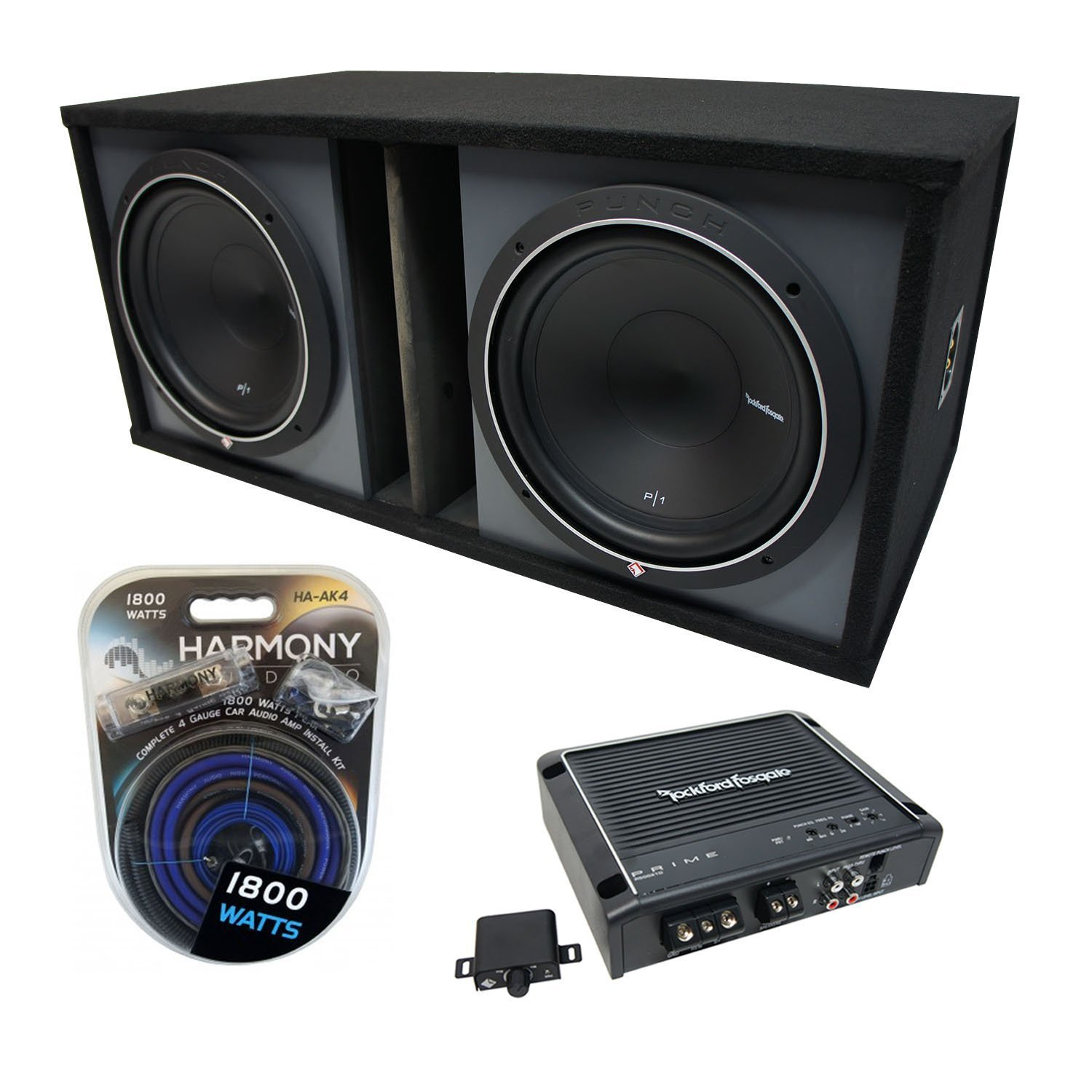 Cheap Rockford Amp Find Deals On Line At Alibabacom Fosgate P1 12 Get Quotations Universal Car Stereo Paintable Ported Dual Punch P1s412 Sub Box Enclosure R500x1d