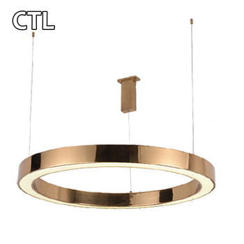 Circular Dining Room Chandeliers Lamps Modern Led Pendant Light