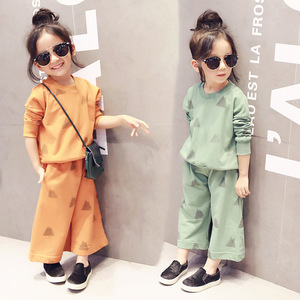 Wholesale Kid Clothes 2016 Children's Boutique Girl Autumn Clothing