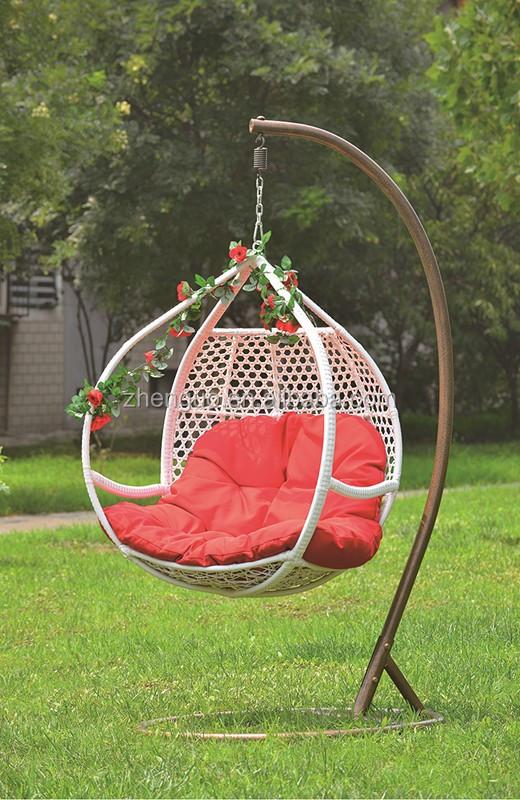 Outdoor Swing Chair Hanging Basket Rattan Outdoor