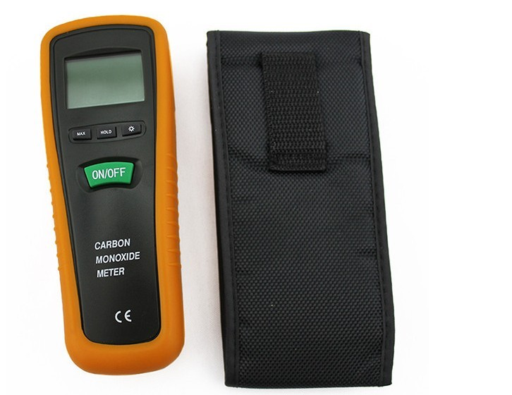 CO monitor hand-held portable carbon monoxide meter CO gas detector measuring range 0-1000PPM