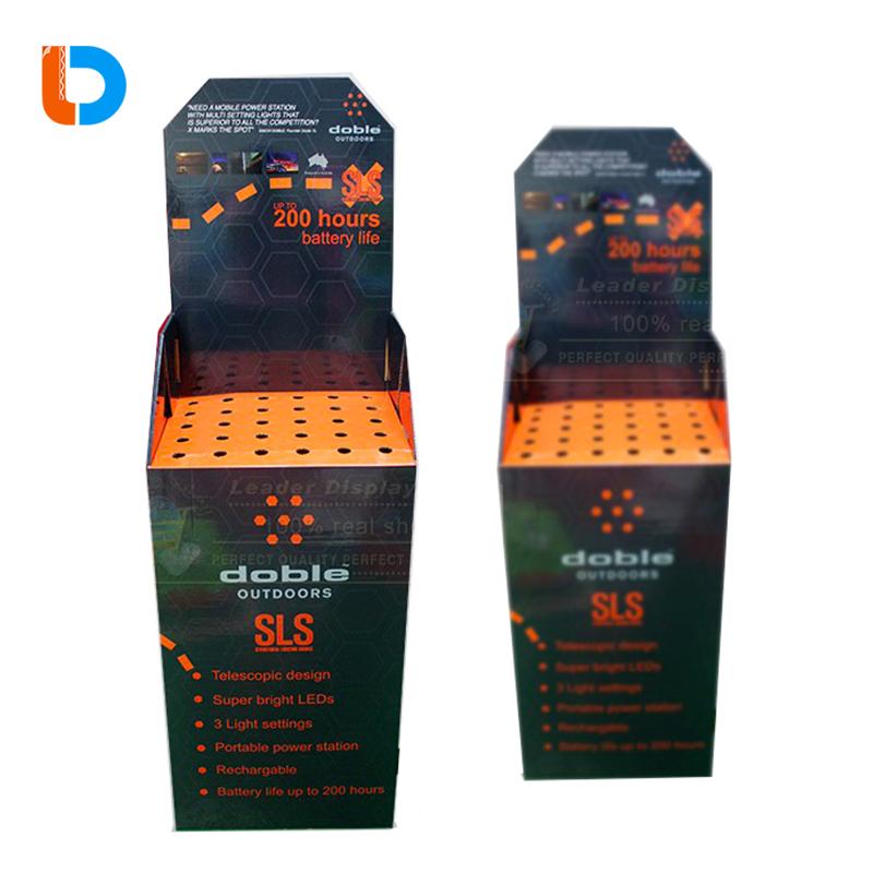 Customized Custom Printed Cardboard Dump Bins For umbrella marketing