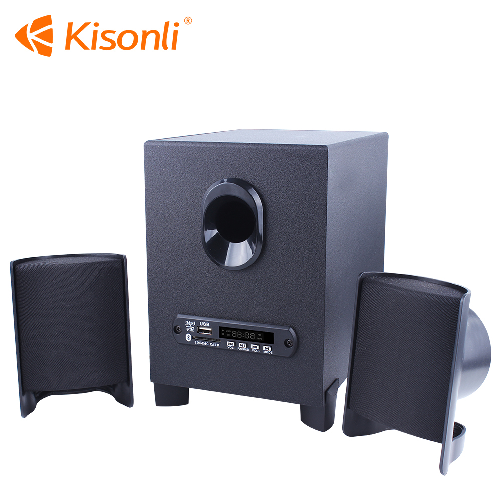 Portable Notebook Desktop Laptop USB Subwoofer home theater Speakers support wireless/USB/FM /Remote controller