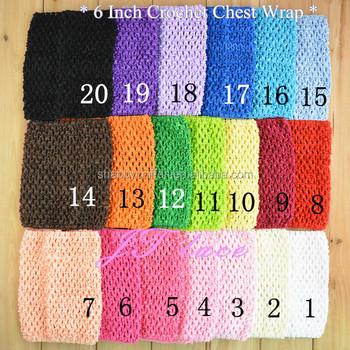 Baby Girl Tube Top Crochet Stretchy Tutu Pettiskirt Bodice Dress Diy